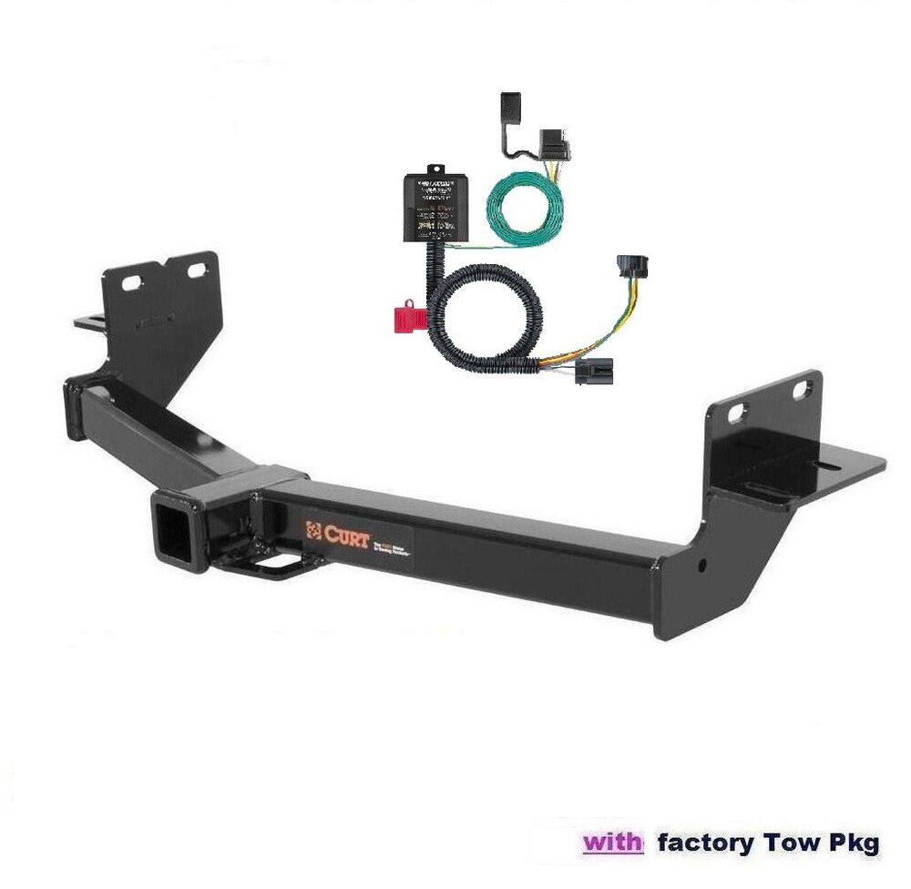 Curt Trailer Hitch Amp Wiring For 2013 2017 Hyundai Santa Fe