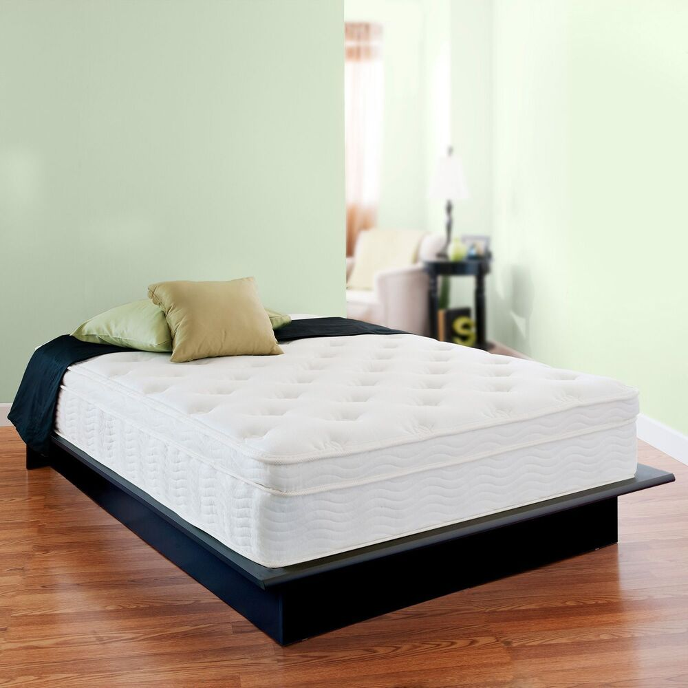 13 Inch Night Therapy Deluxe Euro Box Top Spring Mattress