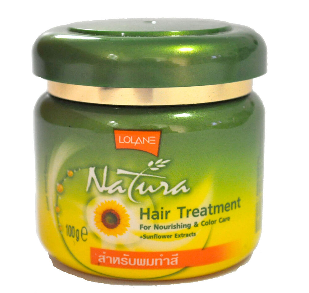dry hair treatment lolane natura hair treatment to nourish color care 29492