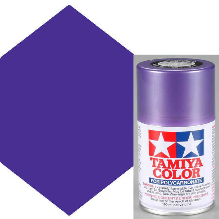 Tamiya polycarbonate ps 51 purple anodized aluminum spray for Painting anodized aluminum