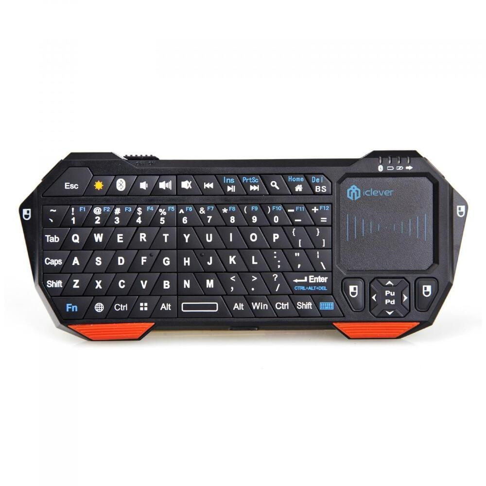 Bluetooth Keyboard For Android Samsung Tablet: Mini Wireless Bluetooth Keyboard Mouse Touchpad For Android Android 3.0 + Tablet