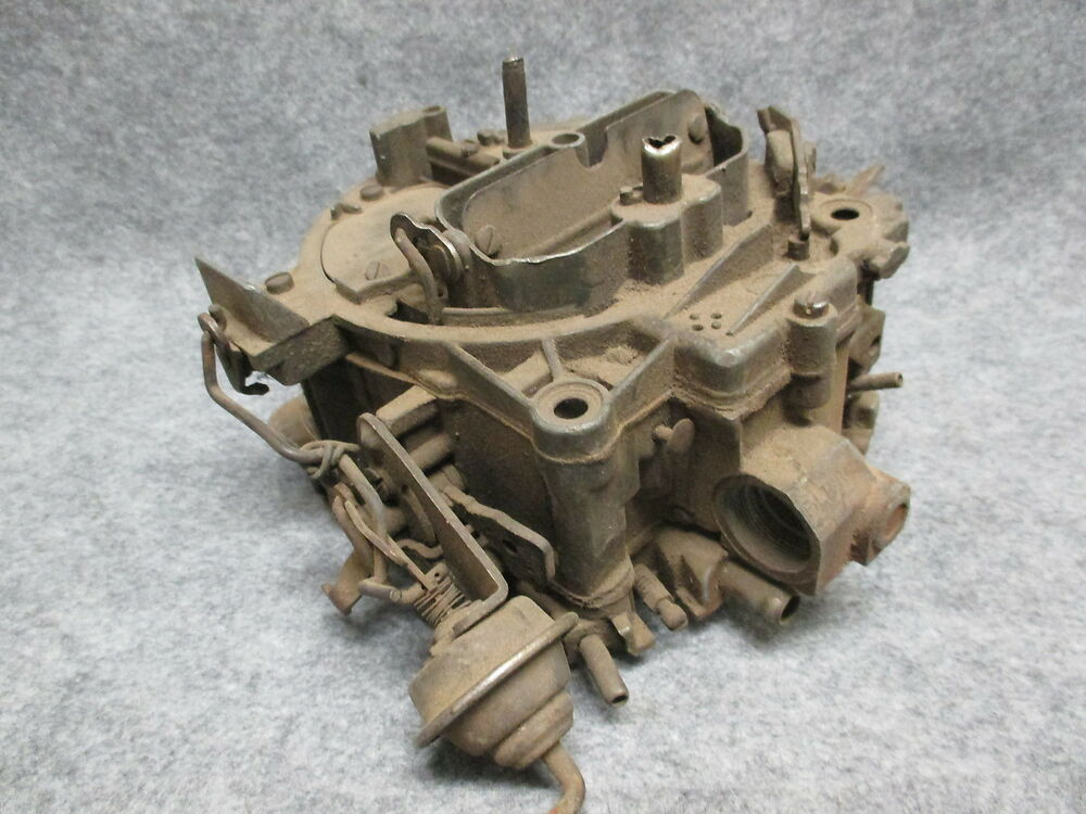 GM Rochester Quadrajet Carburetor 4bbl Rebuidable Core ...