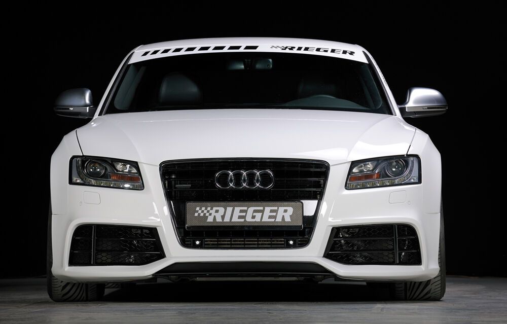 Rieger Spoiler Sto Stange Sch Rze Audi A5 In Rs5 Look