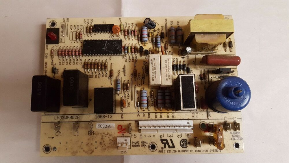 Carrier Bryant Furnace Ignition Control Circuit Board Lh33wp002a  1068