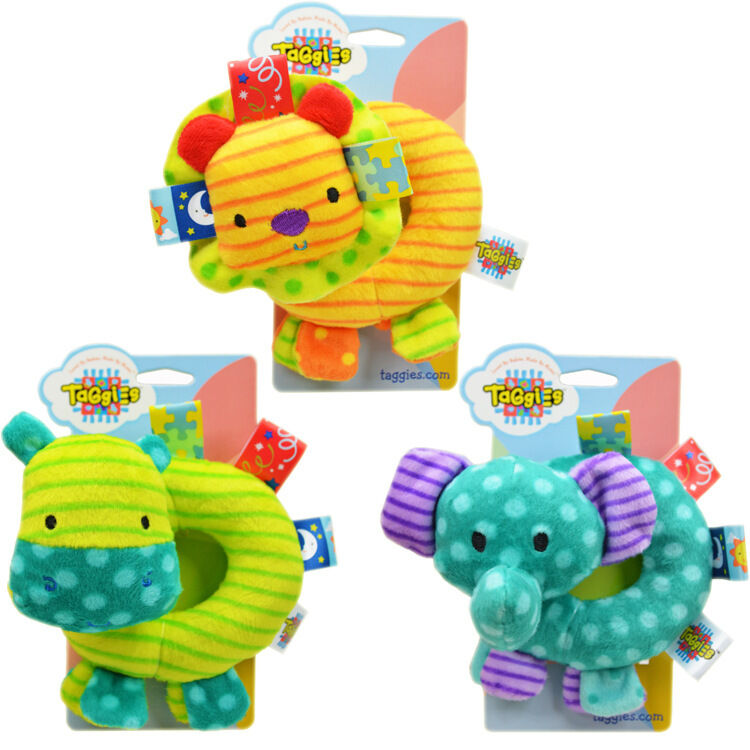Soft Toys For Toddlers Religious : Infant baby kids taggies adorable bright colours soft