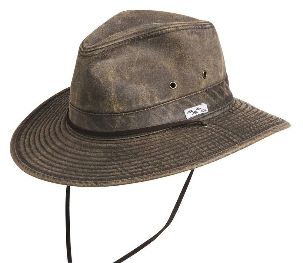 New conner packable crushable cotton poly outback hunting for Fishing hats walmart
