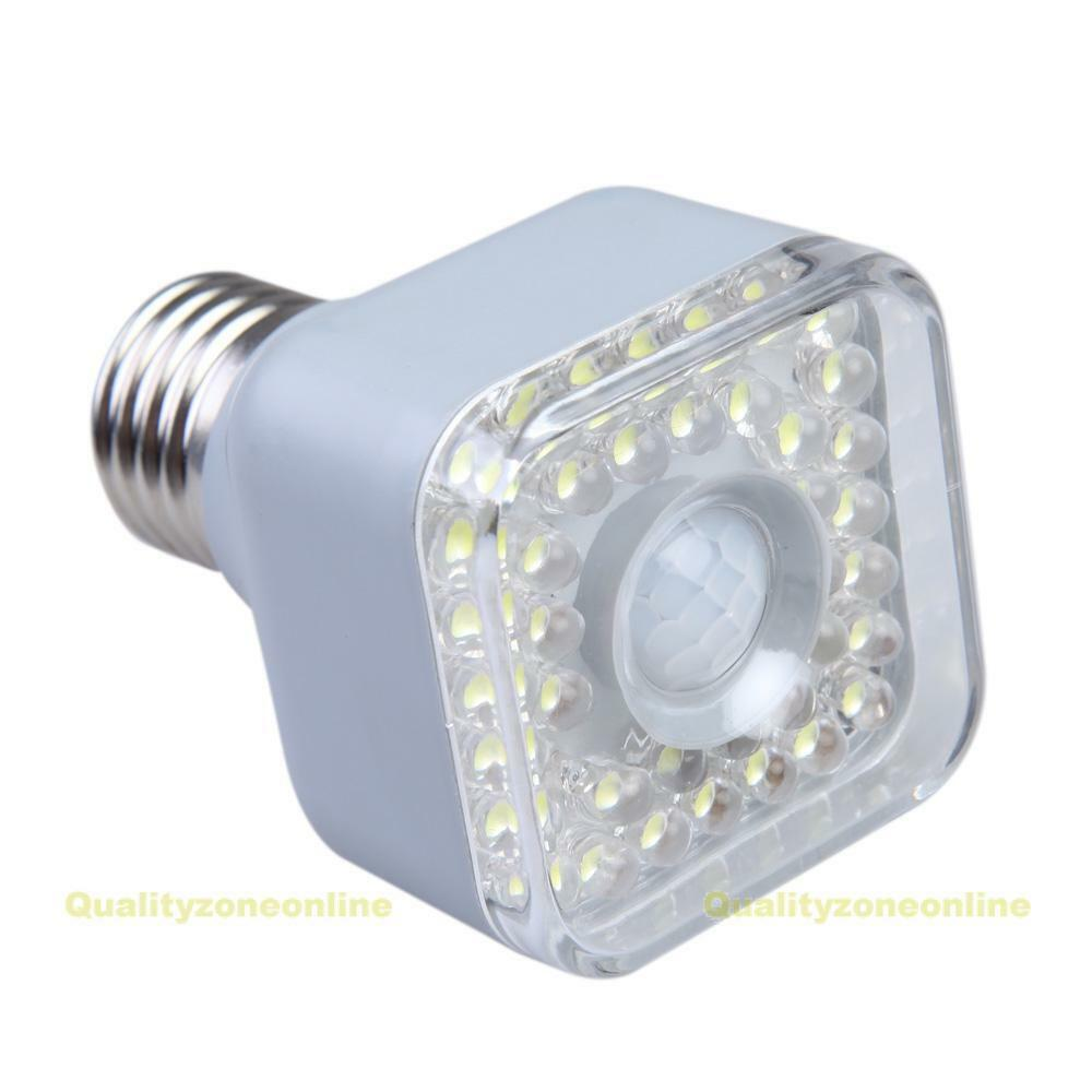 e27 5w ir infrared motion sensor automatic 39 led lamp light bulb 220v 240v ebay. Black Bedroom Furniture Sets. Home Design Ideas