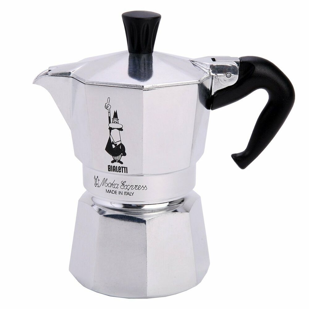 Bialetti Moka 2 Cup Express Stovetop Hob Top Espresso Coffee Maker Percolator eBay