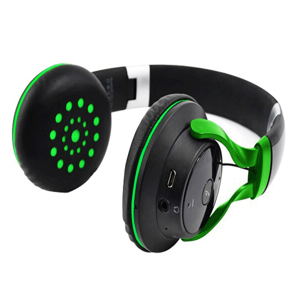 foldable stereo bluetooth microphone headset skype earphone headphone iphone ebay. Black Bedroom Furniture Sets. Home Design Ideas