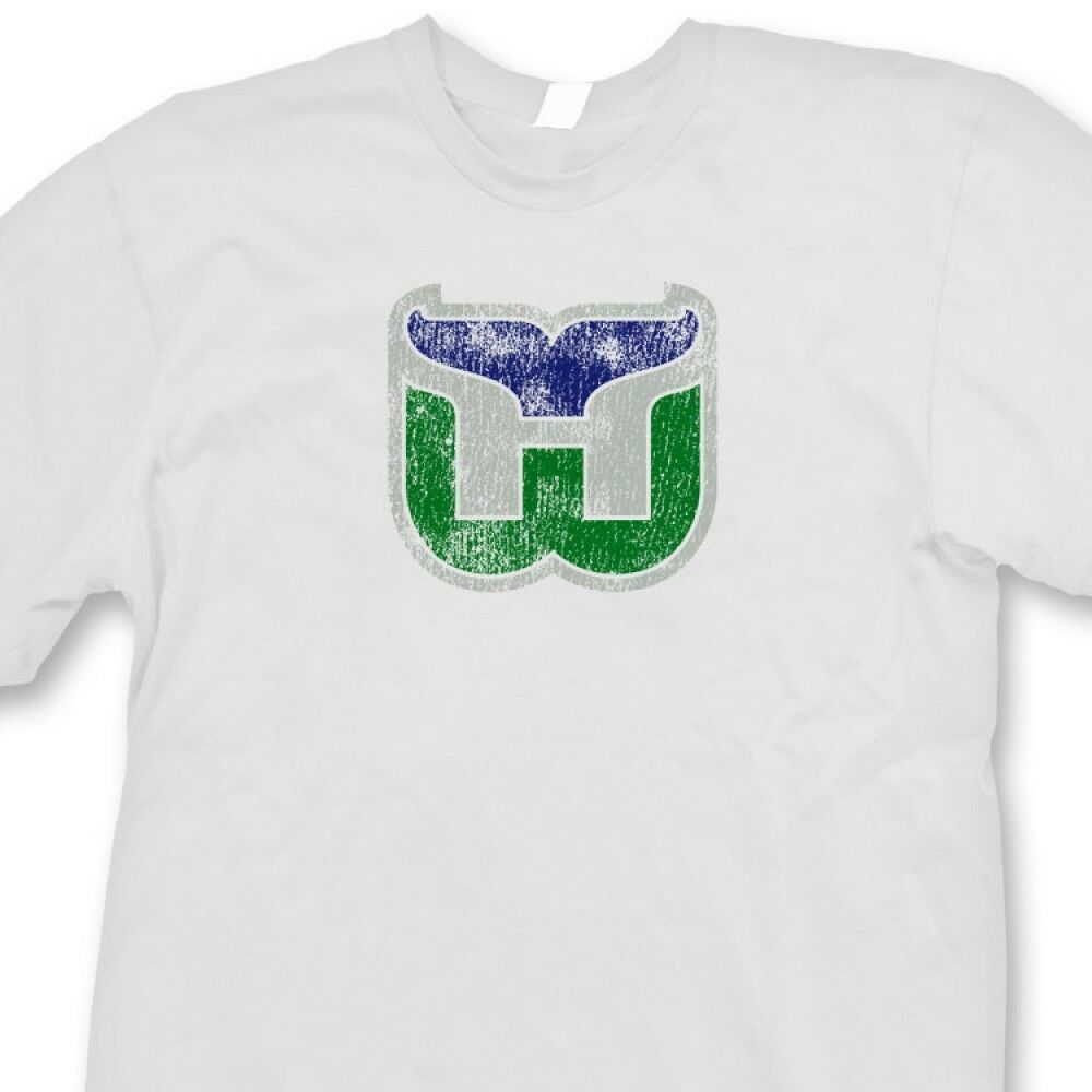 Hartford whalers nhl jersey t shirt retro hockey tee shirt for Retro nhl t shirts