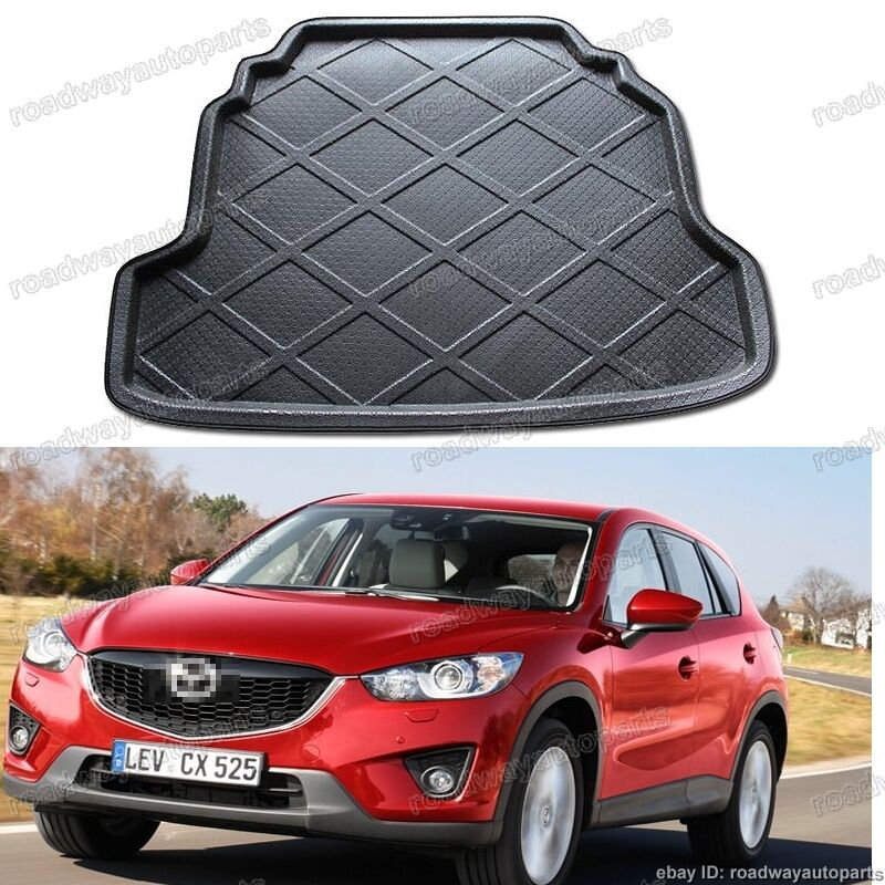 fit for mazda cx 5 2009 2013 tray liner mat car trunk cargo car boot ebay. Black Bedroom Furniture Sets. Home Design Ideas