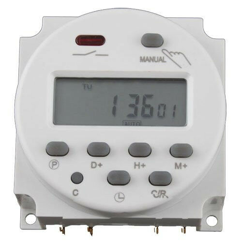 Digital Power Timer : New digital lcd power programmable timer time switch relay