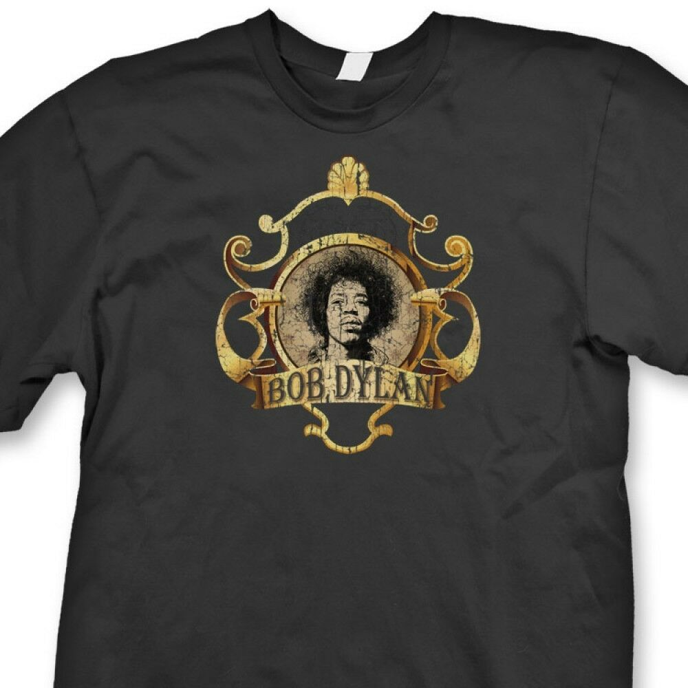 jimi hendrix bob dylan t shirt stoner college humor rock. Black Bedroom Furniture Sets. Home Design Ideas