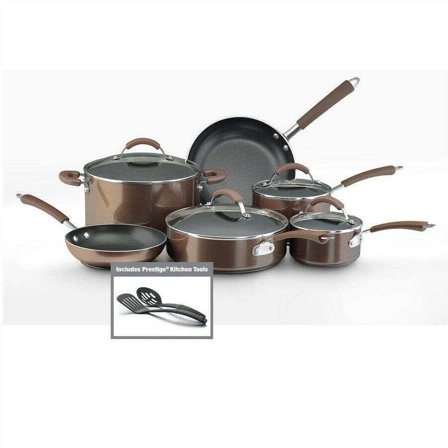Farberware Millennium 12-Piece Set Porcelain Nonstick ...