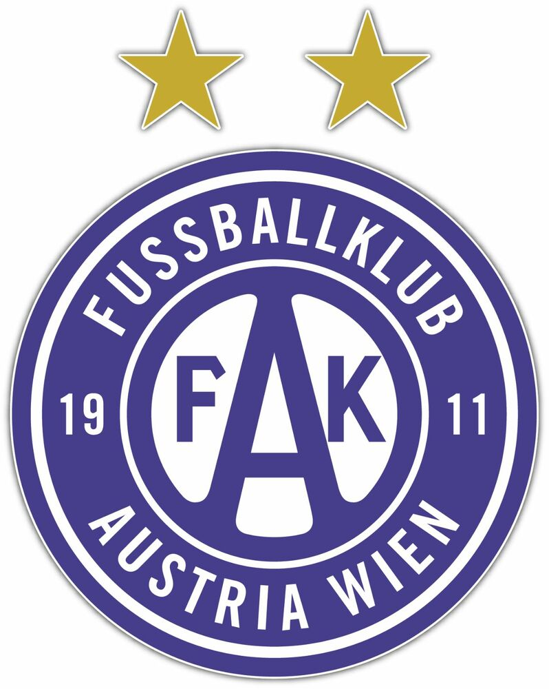 "FC Admira Wacker Mödling Austria Football Soccer Car Bumper Sticker Decal 4/""X5/"""