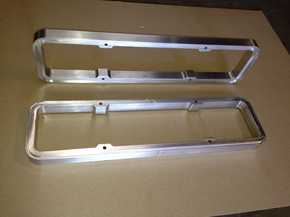Billet Valve Cover Spacer For Small Block Chevy Ebay