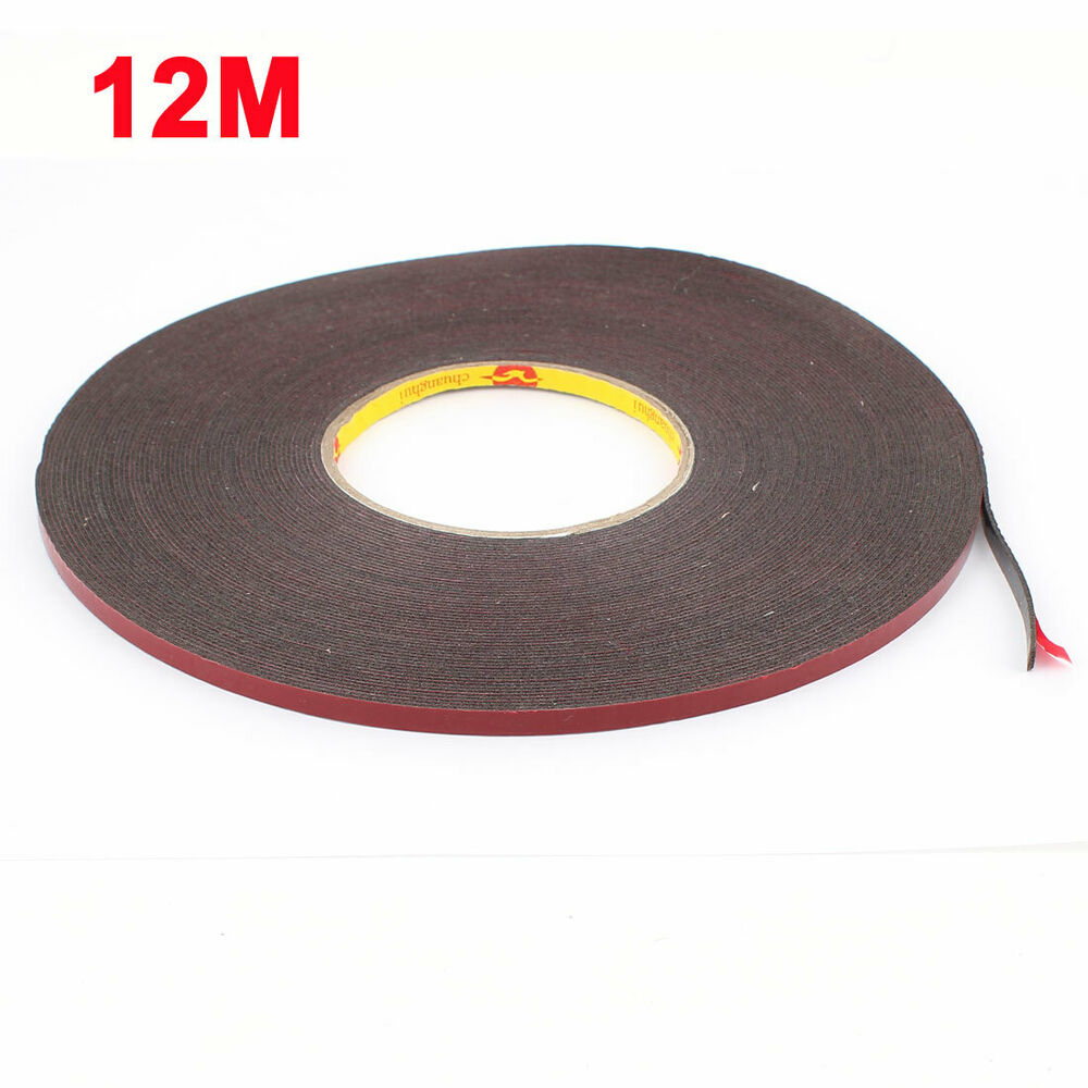 Car 12m Length Acrylic Foam Double Sided Moulding Trim