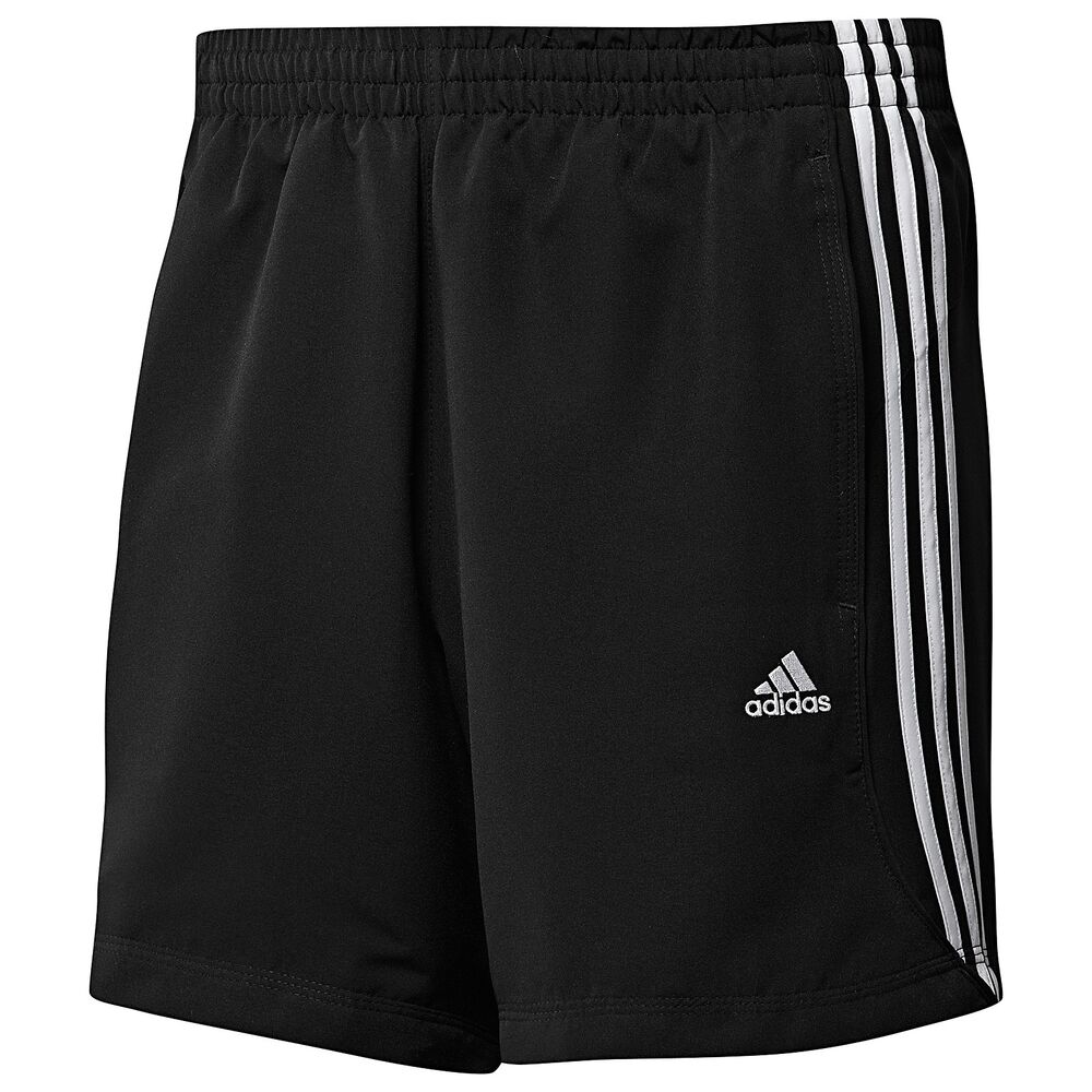 adidas mens chelsea shorts black running training. Black Bedroom Furniture Sets. Home Design Ideas