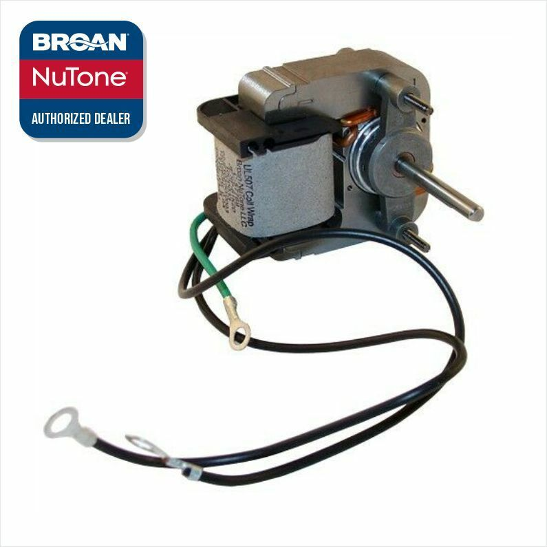 Broan nutone s57769000 9605n heater motor genuine ebay for Bath fan motor replacement