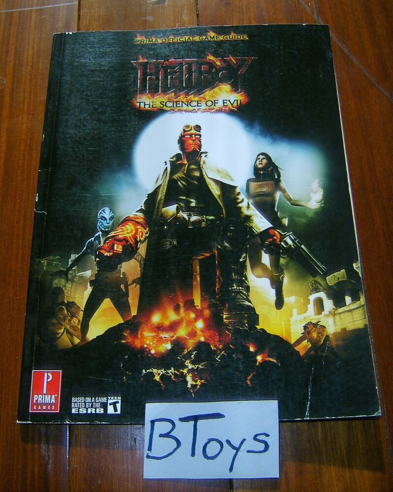 Strategy Games For Xbox 360 : Hellboy the science of evil official strategy guide ps
