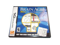 Brain Age 2: More Training in Minutes a Day  (Nintendo DS, 2007) , New