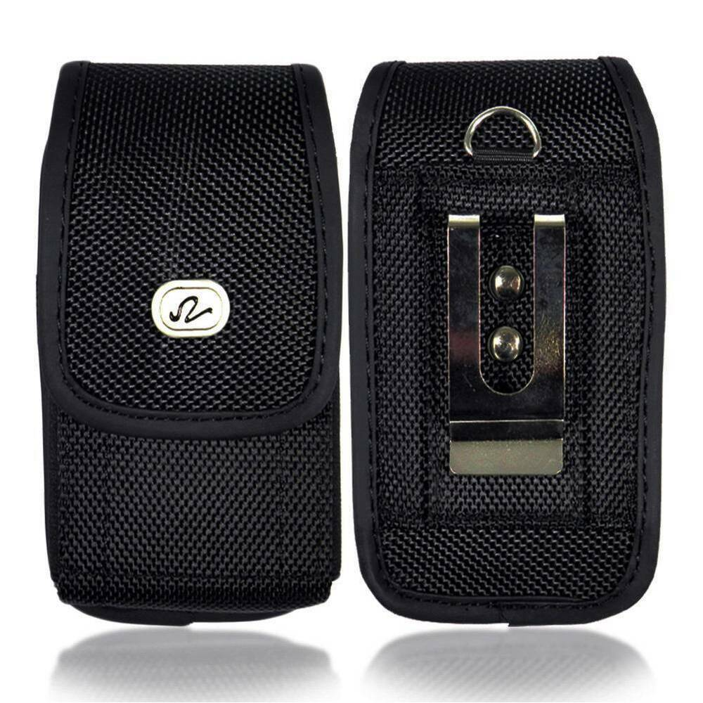 Vertical Pouch Case Holster Carrying Belt Clip For iPhone