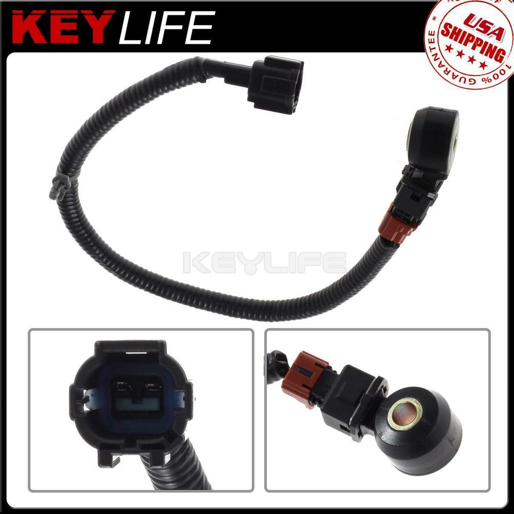 Engine Knock Sensor With Wiring Harness 2206030p00 For 90 2000 1989 Saab Nissan Pathfinder 612677638099 Ebay