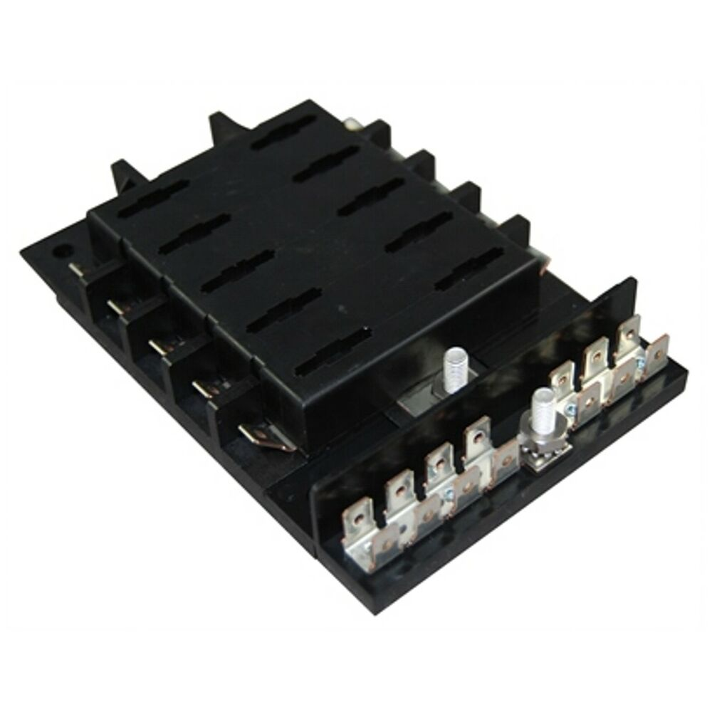 Fuse Box For Small Boat : Marine grade fuse block panel for ato atc style fuses boat
