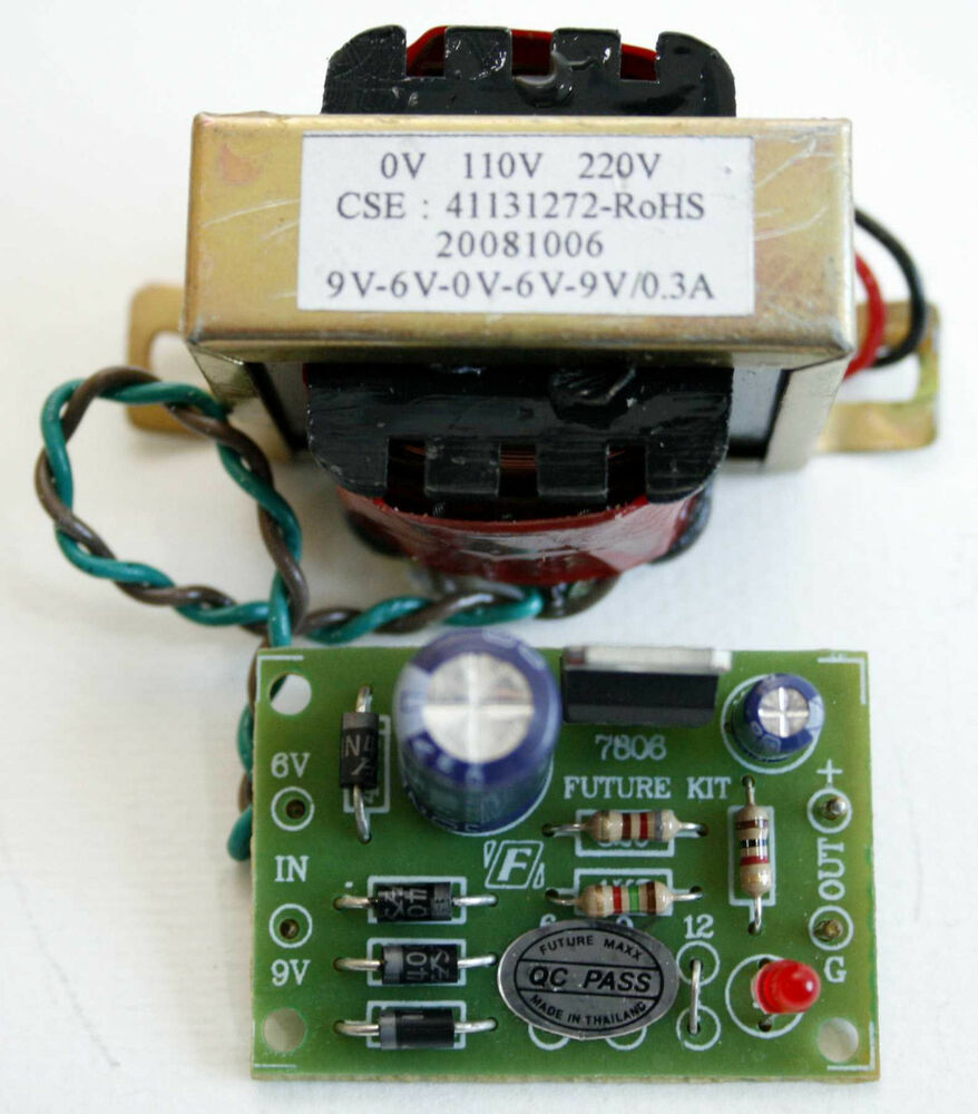 how to build a linear 12v power supply