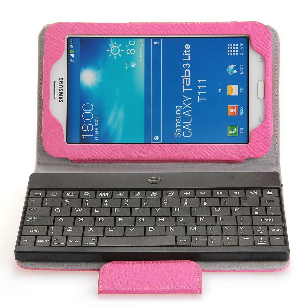 bluetooth keyboard case removable for samsung galaxy tab3. Black Bedroom Furniture Sets. Home Design Ideas
