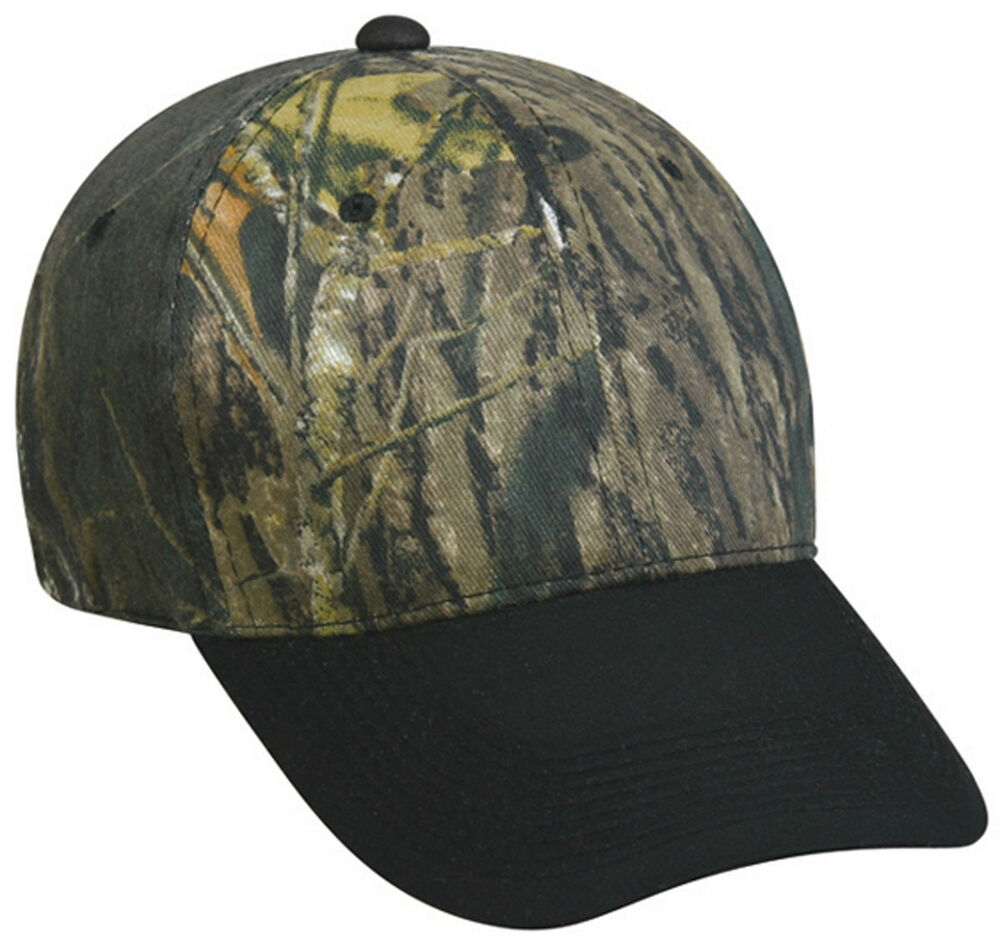 Cap Mossy Oak Treestand Camo Hat With Black Hunting