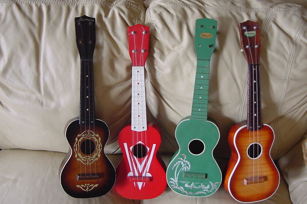 Vintage uke collection art deco harmony nice colors for for Decoration ukulele