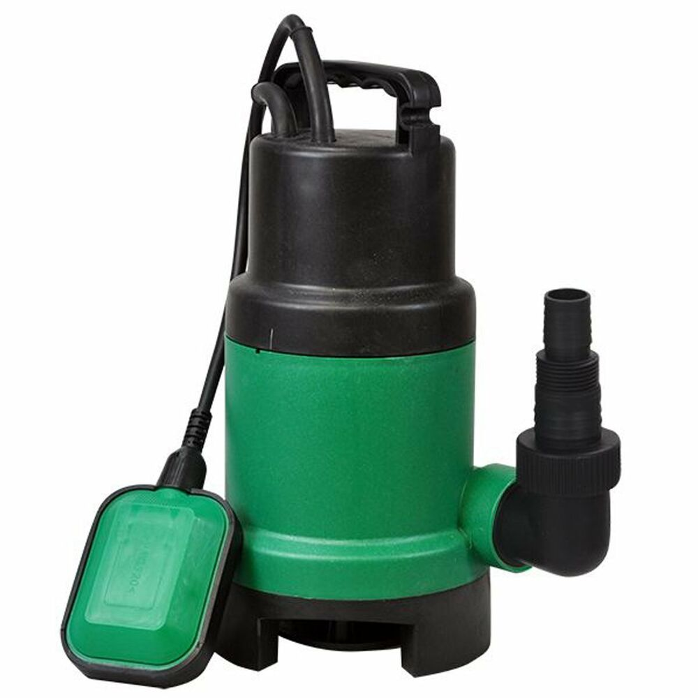 1 electric submersible pump for clean or dirty water flood for Pond water pump