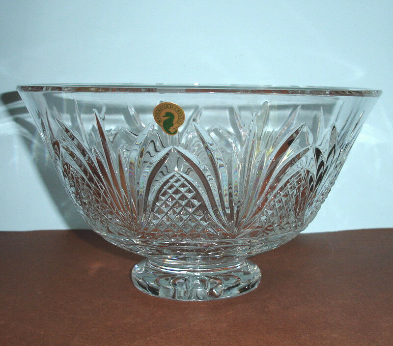 Waterford crystal ambassador centerpiece bowl large footed 10 155724 new ebay - Footed bowl centerpiece ...