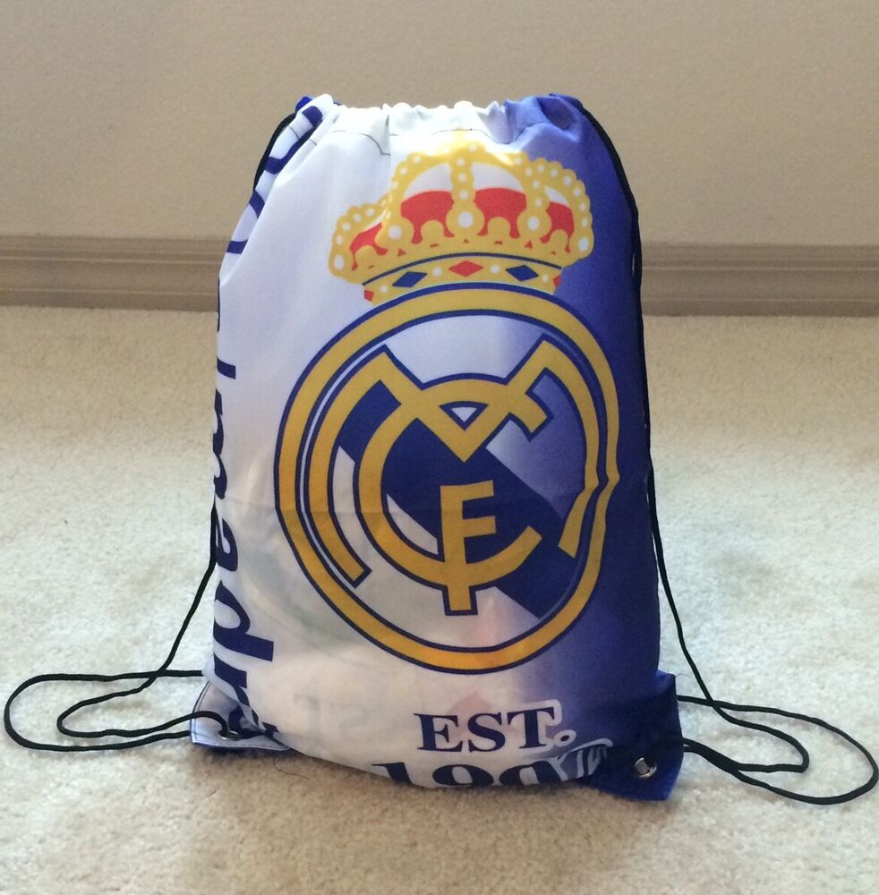 Real Madrid Spain Soccer Backpack Gym Shoes JD01 Bag Cristiano Ronaldo