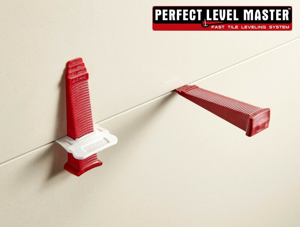 Perfect Level Master T Lock Tile Leveling System Wall