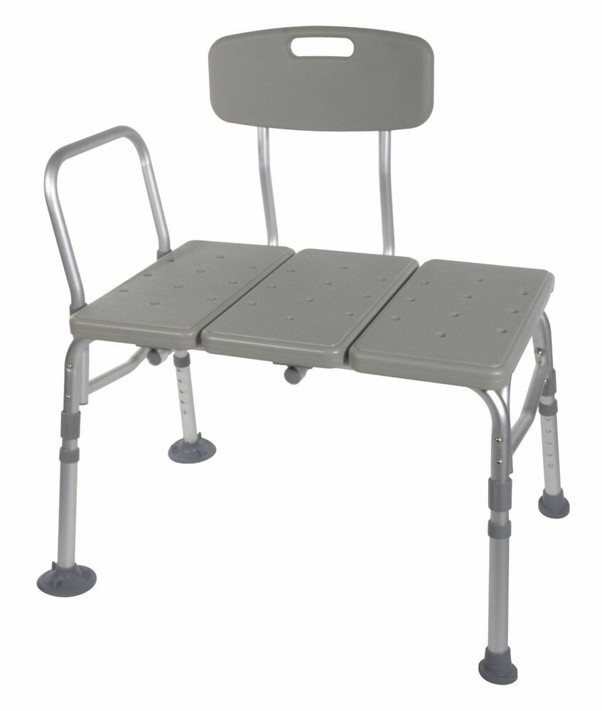 bath tub transfer bench shower handicap chair adjustable safety seat