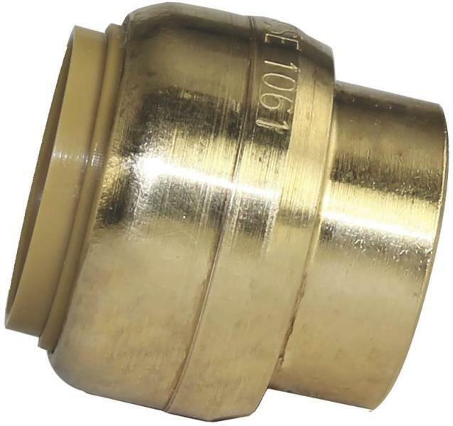 Sharkbite u lfa brass quot push fit copper pex cpvc end