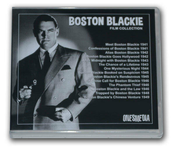 BOSTON BLACKIE FILM COLLECTION - 14 MOVIES - 7 DVD-R with ...