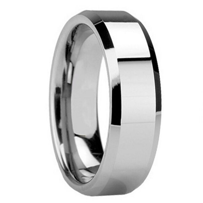 carbide polish wedding band ring his size 8 9 10 11 12 13 new ebay