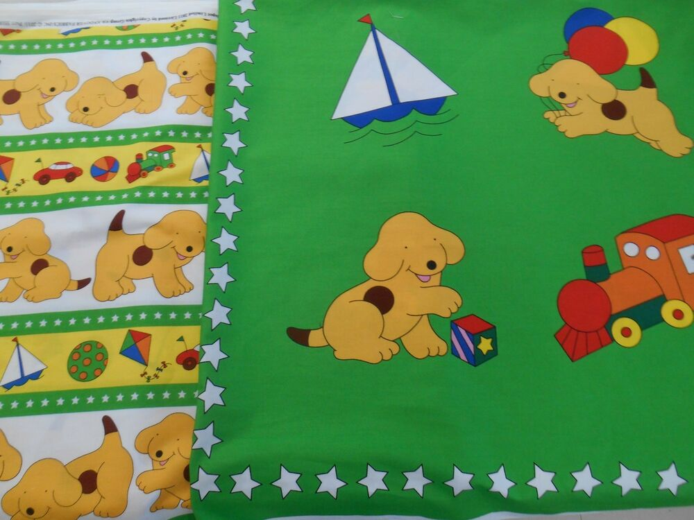 Novelty 100 cotton fabric cartoon story dogs for kids for Novelty children s fabric