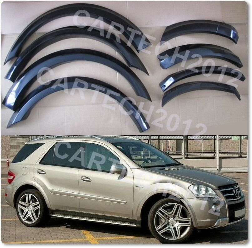mercedes ml w164 wheel arches tuning ebay. Black Bedroom Furniture Sets. Home Design Ideas