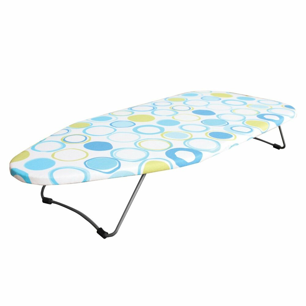 folding top table ironing board compact foldable travel. Black Bedroom Furniture Sets. Home Design Ideas
