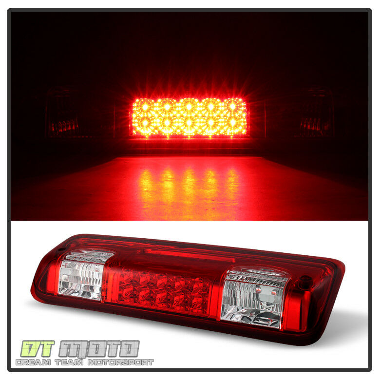 Red Lens 2004 2008 Ford F150 04 08 F 150 Led 3rd Third