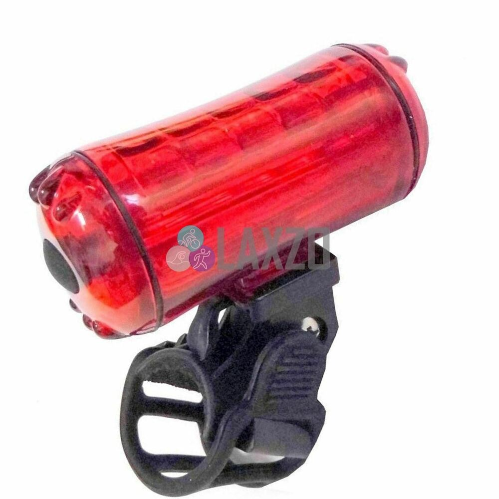 Bicycle Rear Light Led Red Tail Light With Free Battery ...