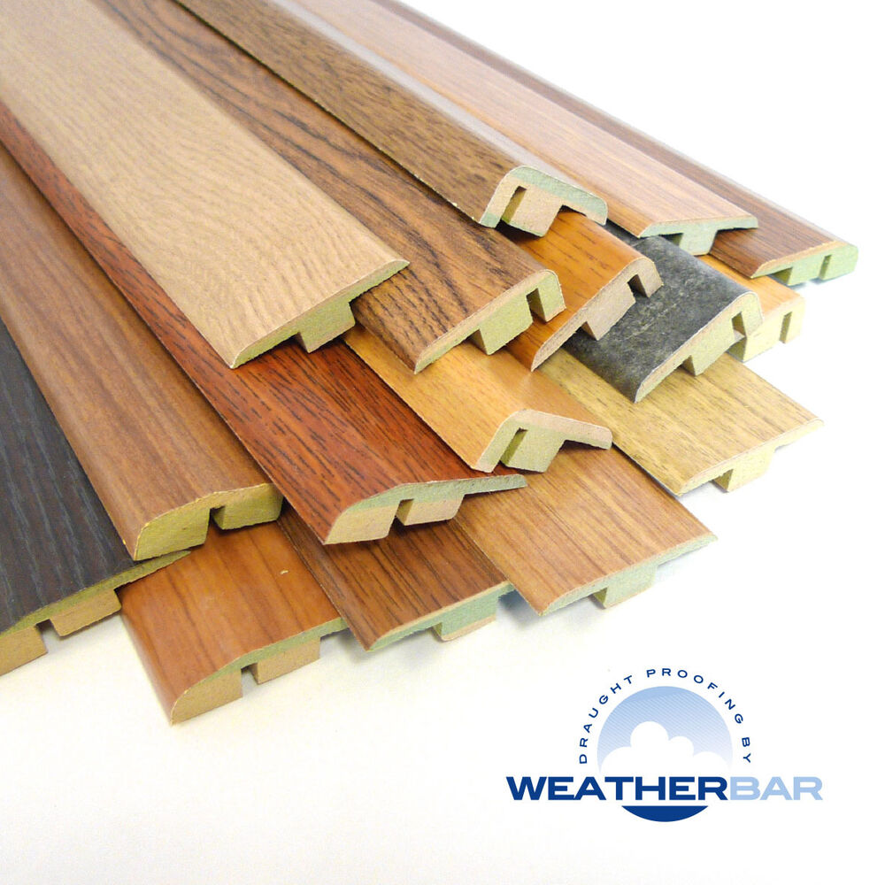 MDF Laminate Flooring Door Bars, Trims, Cover Strips. T