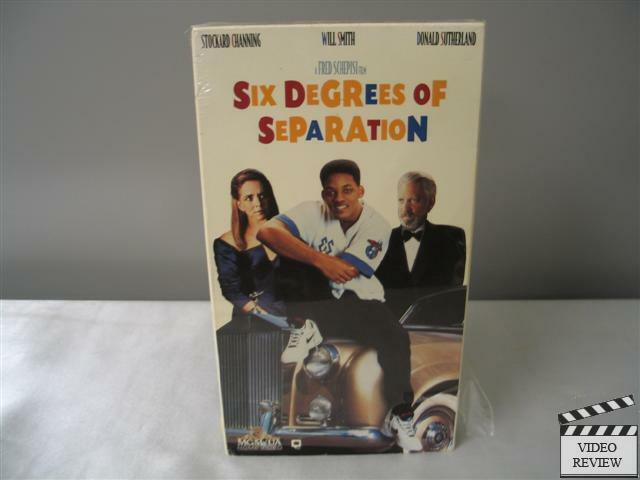 six degrees of separation vhs 1994 will smith stockard