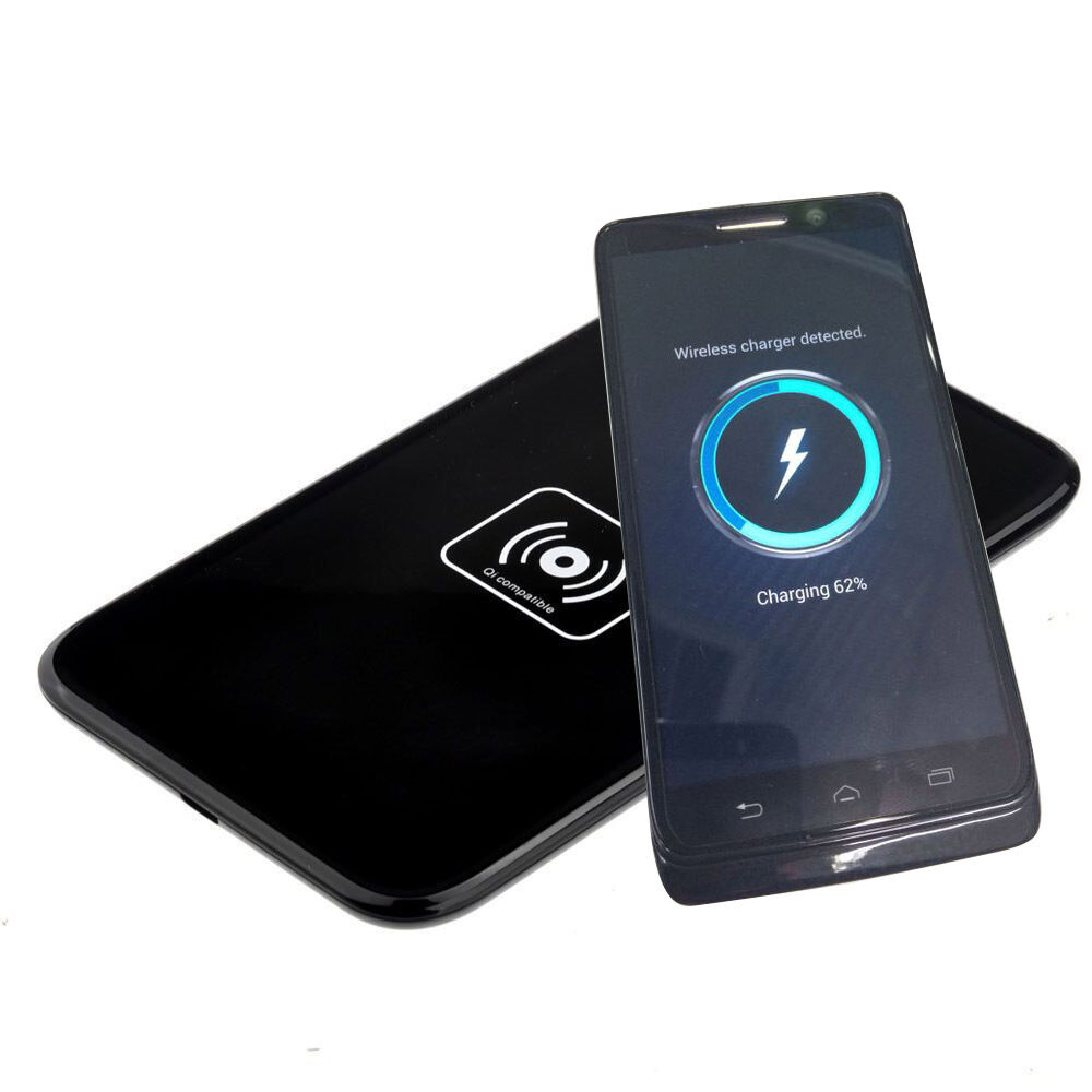 Qi Wireless Charger Charging Dock Black For Motorola Droid