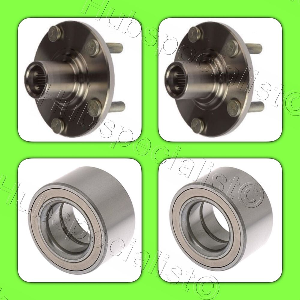 FRONT WHEEL HUB & BEARING FOR 2007-2010 ACURA CSX TYPE-S