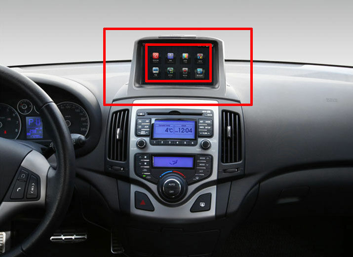 fit hyundai 2010 i30 gps dash fascia audio about. Black Bedroom Furniture Sets. Home Design Ideas